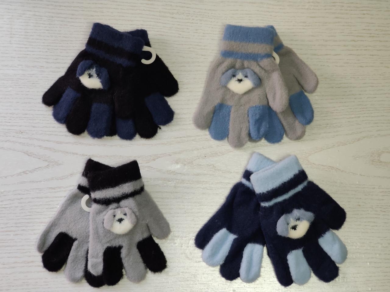 Перчатки для мальчика Возраст 1-3 года
