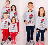Новогодняя детская пижама/костюм для фотосесии в стиле Family look 98,104,110,116,122см