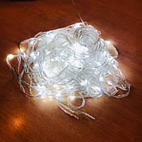 Гирлянда новогодняя Xmas 300 W-1 БЕЛЫЙ холодный свет, фото 1