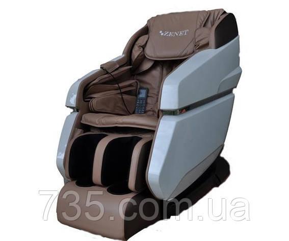 Массажное кресло для тела ZENET ZET 1670 бежевое, фото 2