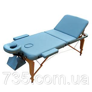Масажний стіл ZENET ZET-1047 розмір М ( 185*70*61), фото 2