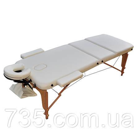 Массажный стол  ZENET  ZET-1047 размер L ( 195*70*61), фото 2