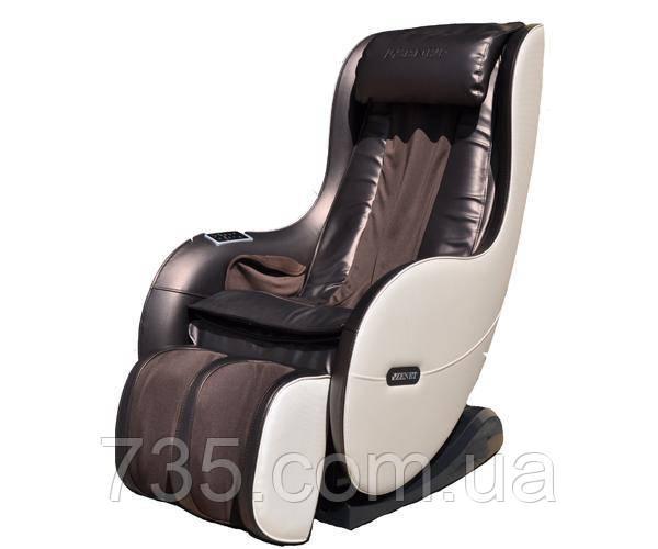 Массажное кресло ZENET ZET 1280 коричневое
