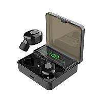 СПЦ кнопка управління бездротової Bluetooth 5.0 HiFi Навушники бас спорт гарнітура з мікрофоном 2000мАч