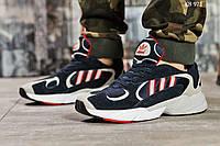 Кроссовки Adidas Yung 1 (сине/серые), фото 1