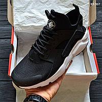 Кроссовки Nike Huarache (черно/белые) Оригинал, фото 1