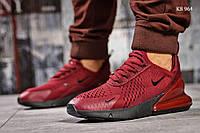 Кроссовки Nike Air 270 (бордовые) Оригинал, фото 1