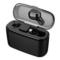 Один М8 міні bluetooth навушники Безпровідні навушники-вкладиші навушників з плоскою Кнопкою версія