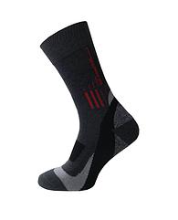 Спортивные носки Sesto Senso Trekking Basic 45-47 Темно-серые sns0138, КОД: 1335431