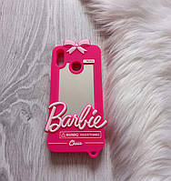 Чехол для Huawei Honor 8X Барби Barbie розовый