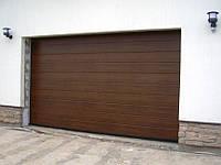 Гаражные секционные ворота серии Trend Alutech.