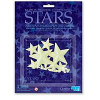 Звезды светящиеся в темноте 10 шт