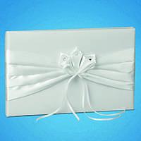 Свадебная книга пожеланий в белом цвете 0719-1