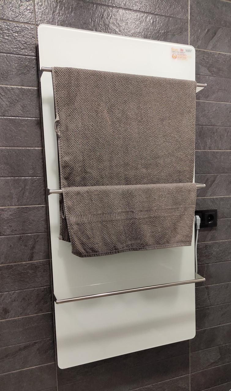 Стекло–керамический полотенце–сушитель SunWay SWGT–RA 800 с терморегулятором