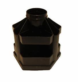 """Подставка для ручек """"Вертушка"""" В61 (10 отделений), черная"""
