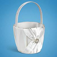 Свадебная корзинка для лепестков роз
