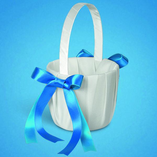 Свадебная корзинка для лепестков  0721-4