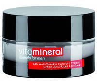 Крем-комфорт против морщин 24 часа / 24h Anti-Wrinkle Comfort Cream (Men Vita Mineral), 75 мл