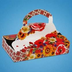 Коробочка для свадебного каравая, сладостей и свадебных шишек С-0036