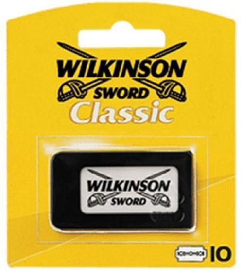 Леза для гоління класичні Wilkinson Sword Classic 10шт.