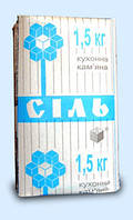 Сіль харчова в пачках (1,5 кг)
