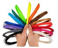 Дополнительный эко-пластик для 3D ручки 10 метров PLA пластика