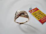 Золотое колечко 3.98 грамма 18 размер ЗОЛОТО 585 пробы, фото 5