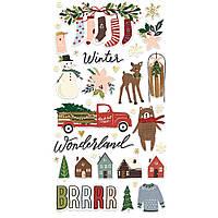 Чіпборд - Winter Cottage - Simple Stories