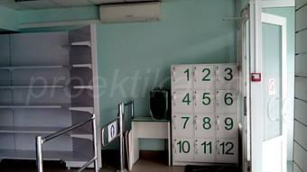 Шкаф ячеечный для оборудования камеры хранения.