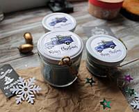 """Новогодняя свеча арома """"Мороз и свежесть"""""""