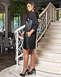 Стильное женское платье свободного кроя Размер 50 52 54 56 58 60 62 64 В наличии 3 цвета, фото 3