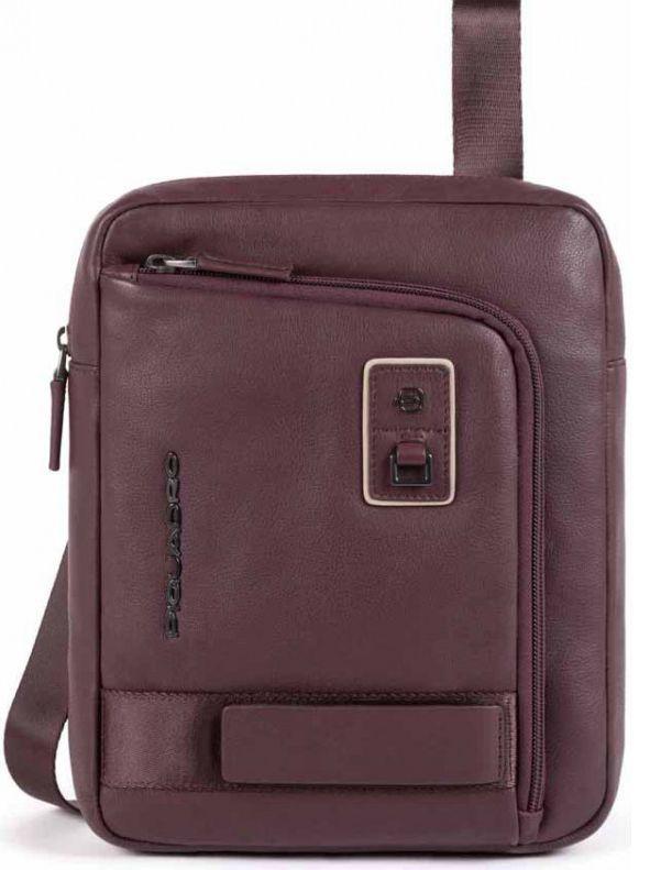 Мужская кожаная сумка Piquadro Dioniso, бордовый