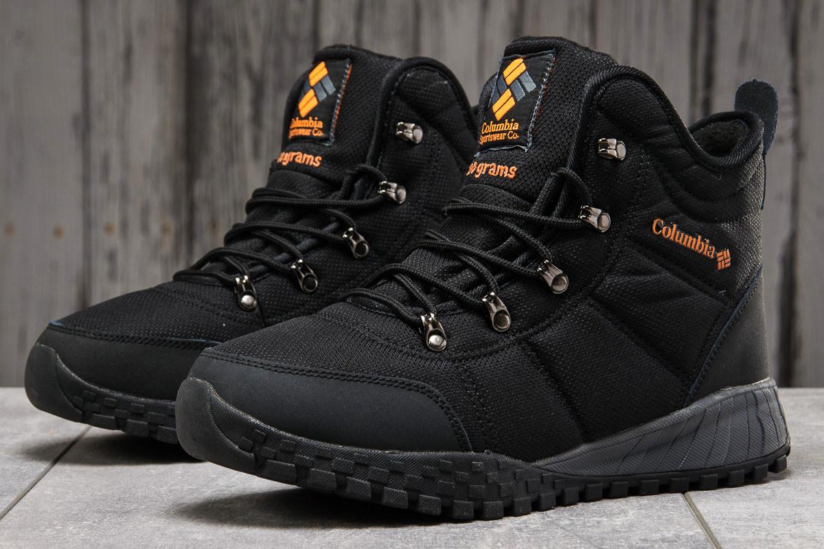 Зимние мужские кроссовки 31231 ► Columbia Waterproof, черные . [Размеры в наличии: 41,42,43,44,46]