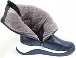 Сапоги женские кожаные зимние, дутики от производителя модель КЛ222-2, фото 6