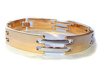 Браслет Xuping классика, комбинированное покрытие