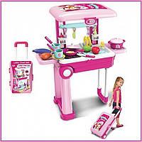 Игровой набор Детская кухня Little Chef Set в чемодане   Детская кухня   Игрушечный чемоданчик с кухней