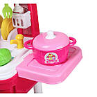 Игровой набор Детская кухня Little Chef Set в чемодане | Детская кухня | Игрушечный чемоданчик с кухней, фото 3