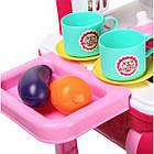 Игровой набор Детская кухня Little Chef Set в чемодане | Детская кухня | Игрушечный чемоданчик с кухней, фото 7