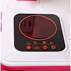 Игровой набор Детская кухня Little Chef Set в чемодане | Детская кухня | Игрушечный чемоданчик с кухней, фото 6