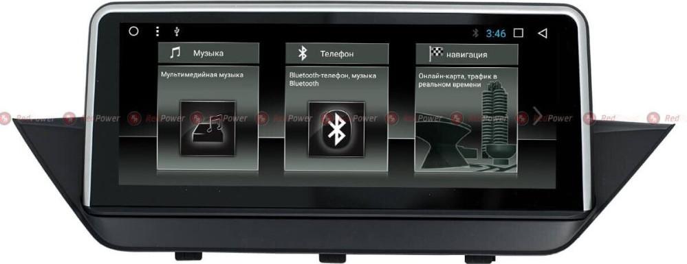 Штатная магнитола Redpower RP51099 IPS BMW X1 (E84) 2009+