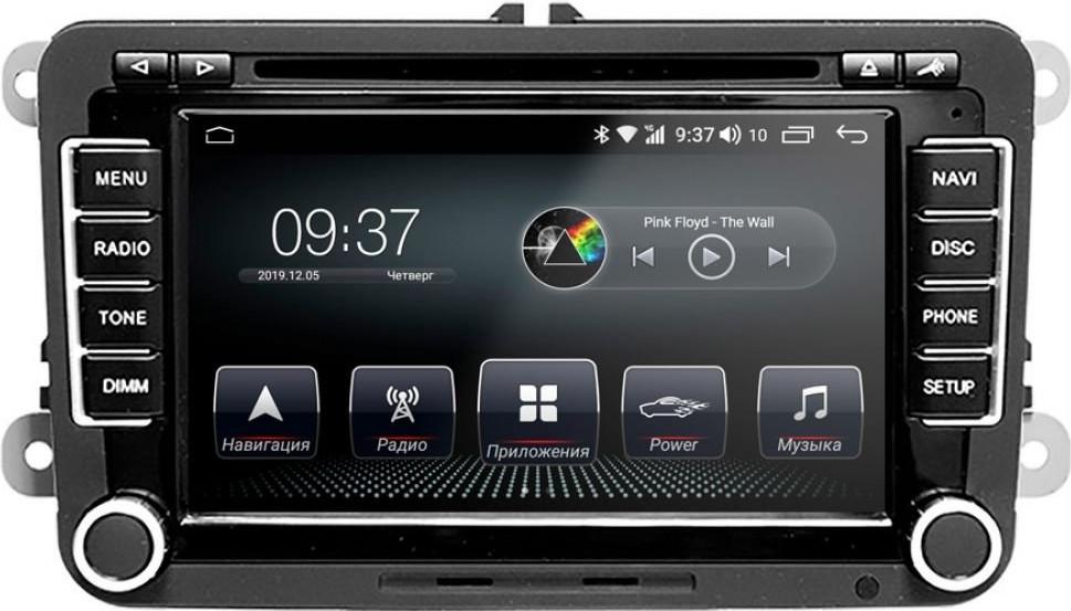 Штатная магнитола AudioSources T200-610SR Volkswagen