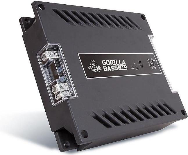 Усилитель Kicx Gorilla Bass 4.660