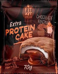 Протеиновое пирожное Fit Kit Шоколадный Фондан (70 грамм)