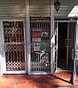 Раздвижная решетка на дверь Шир.4000*Выс2200мм для магазина
