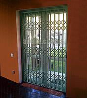 Раздвижная решетка на дверь Шир.1255*Выс2200мм для офиса, фото 1