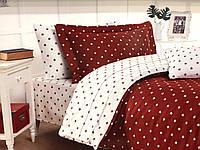 Комплект постельного белья Maison D'or Star Red сатин 160-220 см красный