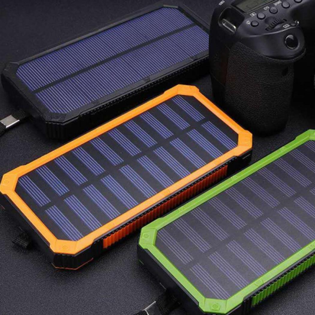 Зарядка Power Bank на солнечной батарее Solar Charger 20000 mAh