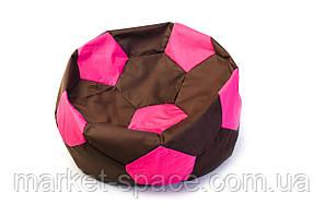 Кресло мяч «BOOM» 60см оранжево-коричневый, фото 2