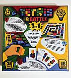 Tetris IQ Battle 3в1 Настільна гра для сім'ї та компанії (Danko Toys), фото 3