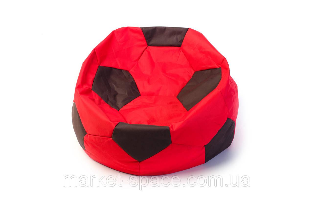 Кресло мяч «BOOM» 60см красно-коричневый